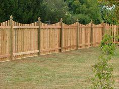 wood and cedar custom fencing lj fence
