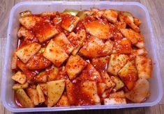설렁탕 집 사장님께 배운 깍두기 담그는 방법 K Food, Food Menu, Korean Dishes, Korean Food, Banchan Recipe, Food Plating, Asian Recipes, Food To Make, Food And Drink