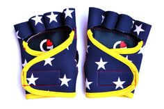 Wonder Woman workout gloves (Swarovski® crystals optional) · g-loves workout gloves for women
