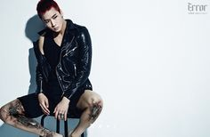 "Ravi: VIXX reveals jacket image + concept photos for 2nd mini-album, ""Error"""