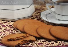 TARÇINLI BERLİN KURABİYESİ TARİFİ | İzmirdenlezzetler Sweet Cookies, Candy Cookies, Cookie Desserts, Yummy Cookies, Cupcake Cookies, Cookie Bars, Dessert Recipes, Food Words, Trifle