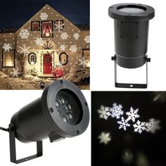 Outdoor/ Indoor LED Projection Light For Christmas Festival Garden Decoration EU Plug