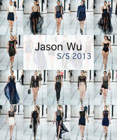 Jason Wu SS 2013 runway
