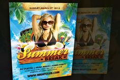 mchdesigner: send you custom summer party flyer for $5, on fiverr.com