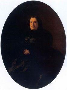 Nikolai Ge - Porträt of V . N . Rostovtseva