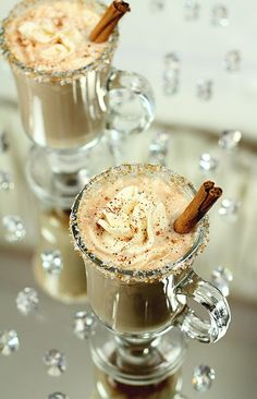 """""""Hot Buttered Rum for Christmas Eve."""""""