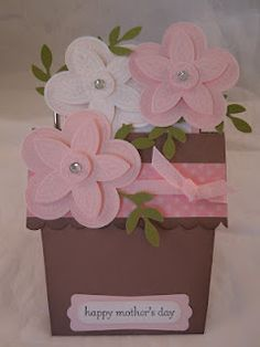 My Mothers Day Flower Pot Card