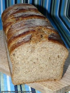 Bread Recipes, Cooking Recipes, Good Food, Yummy Food, Bread N Butter, Ciabatta, Bread Rolls, Detox Recipes, Banana Bread