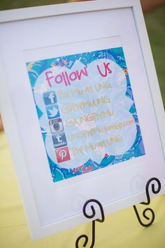 Get your chapters social media information out there!