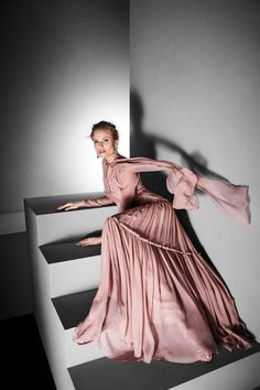 Alberta Ferretti Limited Edition Fall 2017 Couture Fashion Show