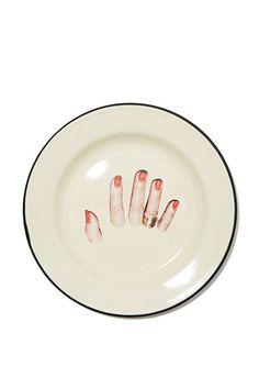 Seletti Wears Toiletpaper Plate - Fingers - Festive Fiend | All | Under $50