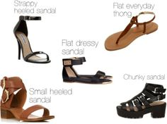 5 sandals every girl needs for Spring!