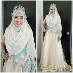 dress pengantin muslimah - Google Search
