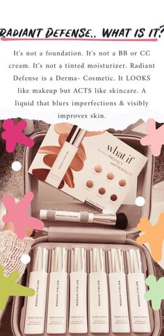 Perfect & Protect My newest love in cosmetics is the Radiant Defense by Rodan & Fields. Rodan Fields Skin Care, My Rodan And Fields, Rodan And Fields Business, Rodan And Fields Products, Skin Products, Oily Skin Care, Anti Aging Skin Care, Skin Care Tips, Derma Cosmetics