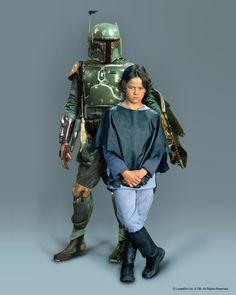 Daniel Logan as young Boba Fett-Mandalorian and would-be-bounty hunter hired by Darth Vader (courtesy: Lucasfilm LTd.)