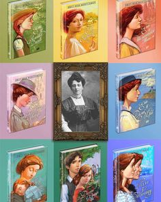 These are beautiful! I wish they were in English! Anne Green, Penny Parker, Lm Montgomery, The Hammond, Tomorrow Is A New Day, Anne With An E, Beloved Book, Summer Books, Anne Shirley