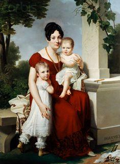 Bouchet, Louis-André-Gabriel  - Mother and Children 1815