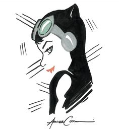 Catwoman by Amanda Conner. I love her art.