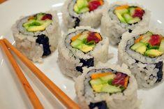 DIY Spicy Tuna Roll