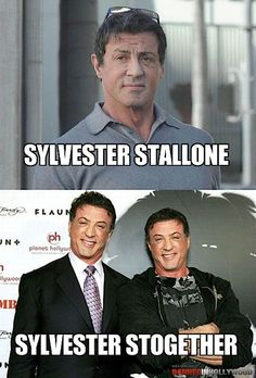 Sylvester Stallone. Sylvester Stogether.