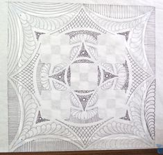 I have been playing around on paper doing some design work for a whole cloth quilt I am planning to create. Longarm Quilting, Free Motion Quilting, Quilting Tips, Hand Quilting, Machine Quilting, Quilting Designs, Embroidery Designs, Pattern Blocks, Quilt Patterns