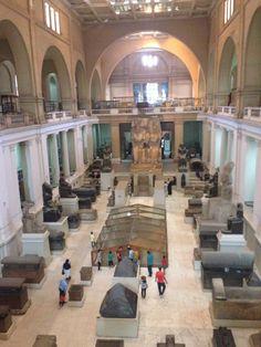 The Egyptian Museum | المتحف المصري in Tahrir Square, القاهرة was a fantastic experience.