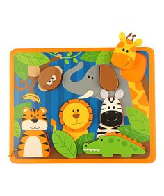 Another great find on #zulily! Zoo Felt Puzzle #zulilyfinds