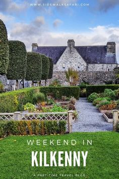 Learn about how to spend a weekend in Kilkenny City Ireland. Take the train from Dublin to Kilkenny and discover fun things to do in Kilkenny. Experience for yourself what there is to see and do in the heart of Kilkenny town. #Kilkenny #Ireland