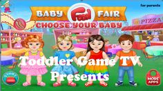 Baby Visit Food Fair Game for Kids and Toddler