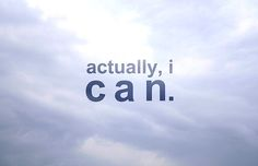Actually, I can // #fierce #posters