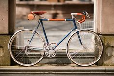 650b Randonneur with Handmade Leather Detail | Flickr - Photo Sharing! Very nice touring bike na