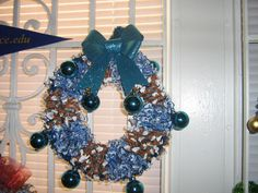 400 individually wrapped mouth watering Blueberry and Root Beer chewable candies strung and hand decorated.