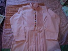 camisa tonosieña niño