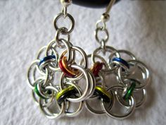 Items similar to The Four Houses Chain Flower Earrings on Etsy Harry Potter Accessories, Paper Ornaments, Flower Earrings, Houses, Crafty, Chain, My Style, Unique Jewelry, Bracelets
