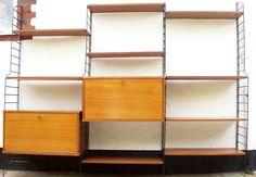 BRIANCO-LADDERAX-STYLE-RETRO-SHELVING-MODULAR-1960s-WALL-SYSTEM