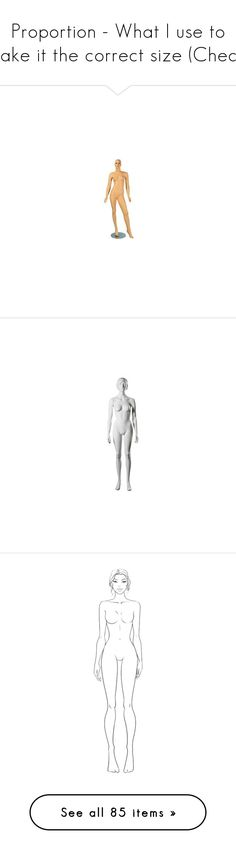 """""""Proportion - What I use to make it the correct size (Cheat)"""" by nikki-kersey ❤ liked on Polyvore featuring doll parts, body parts, dolls, filler, sketch, art, backgrounds, body, illustration and paper dolls"""