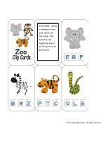 2 Teaching Mommies: The Zoo