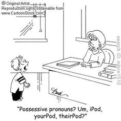 Possessive Pronouns?