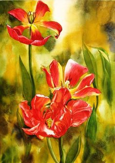 Blog of an Art Admirer: Watercolor Painting by Alfred Ng Canadian Artist