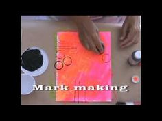 For teens. Really cool idea. Dream Journal, Good Tutorials, Mark Making, Art Techniques, Art Journaling, Art For Kids, Create Your Own, Mixed Media, Encouragement