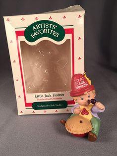 Hallmark Keepsake Ornament-Artists' Favorite - 1988 Little Jack Horner | Collectibles, Decorative Collectibles, Decorative Collectible Brands | eBay!