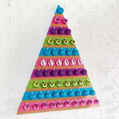 DIY Ornament Wall Tree