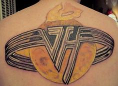Van halen tattoos pinterest van halen and van for Tattoo van halen