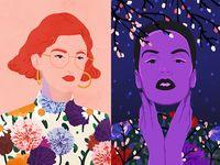 Sommer & Winter Flower Girls