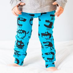 Toddler's 'Scary' Pants Banned from Daycare, and They're Really Cute.