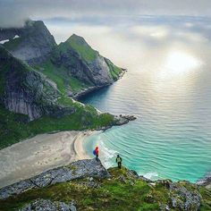 Kvalvika Lofoten...Norway - use #HattvikaLodge as your Base Camp for exciting guided adventures and activities in Lofoten