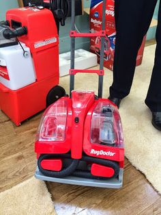 Rug Doctor Portable Spot Cleaning Machine And Spray Review