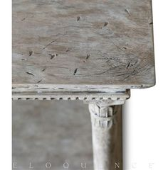 Eloquence® Gustav Console Table in Oak Driftwood