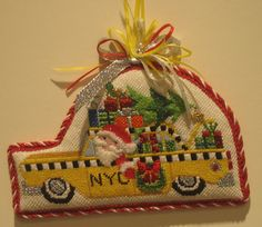 Raymond Crawford | NYC Taxi Ornament