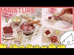 미니어처 팥죽, 시루떡 만들기 - 달려라치킨 - YouTube
